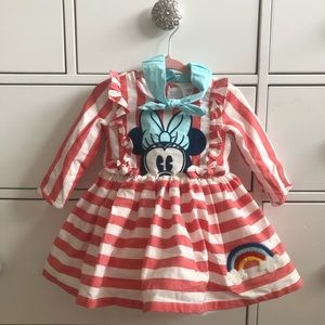 Minnie Mouse tulle dress 9-12M